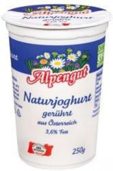 ALPENGUT Naturjoghurt gerührt