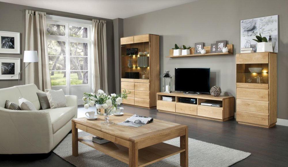 Wohnzimmer Komplett Set B Fazenda 5 Teilig Teilmassiv Farbe
