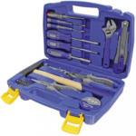 Möbelix Werkzeugset 3648, 31-teilig Blau