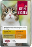 dm Dein Bestes Katzenfutter Beutel-Variation Geflügel in Sauce
