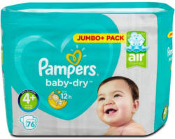 Pampers baby-dry Windeln Gr. 4+ (10-15 kg) Jumbo+ Pack