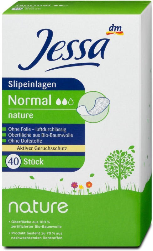 Jessa nature Slipeinlagen Normal