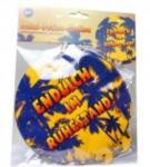 """ORANGEandGREEN Folien-Ballon """"Endlich im Ruhestand"""", 3-tlg.,..."""