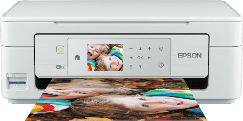 EPSON Expression Home XP 445 Tintenstrahl 3-in-1 Multifunktionsdrucker WLAN
