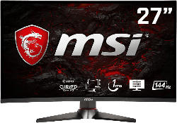 Gaming-Monitore - MSI OPTIX MAG27C-305M 27 Zoll Full-HD Curved Gaming Monitor (1 ms Reaktionszeit, 144 Hz)