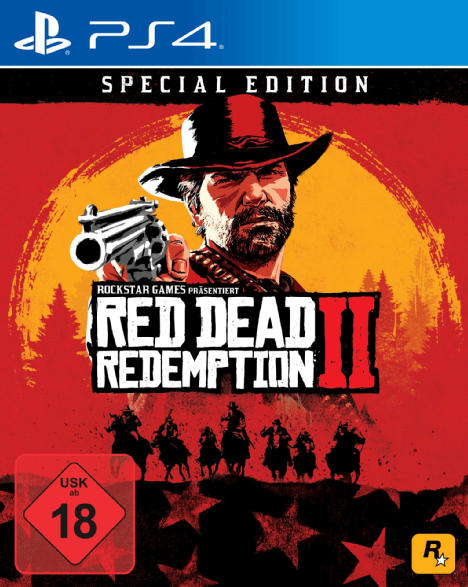 PlayStation 4 Spiele - Red Dead Redemption 2 (Special Edition) [PlayStation 4]