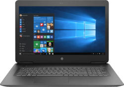Gaming-Notebooks - HP Pavilion 17-ab435ng , Gaming Notebook mit 17.3 Zoll Display, Core™ i7 Prozessor, 16 GB RAM, 1 TB HDD, 128 GB SSD, GeForce® GTX 1050 Ti, Schwarz