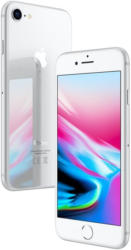 Apple iPhone 8 64GB silber MQ6H2 MQ6H2ZD/A silber/weiß