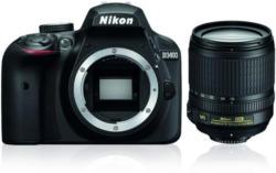 Nikon D3400 Schwarz Kit AF-S 18-105 VR SLR Kamera (VBA490K003)