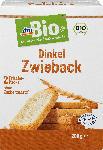 dm-drogerie markt dmBio Zwieback, Dinkel