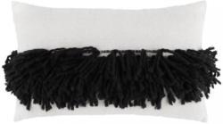 Zierkissen Harare Schwarz/Weiß 30x50cm