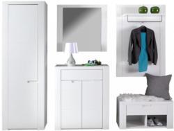 Garderobenkombination Bree 4 Weiß