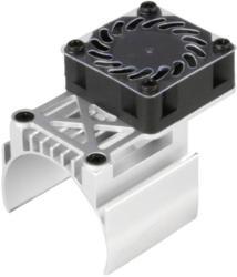Motor-Kühlkörper mit Ventilator Ventilatorposition: mittig sitzend
