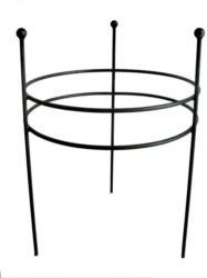 Rankhilfe Attard 57, pulververzinkt, Farbe: Schwarz matt - Durchmesser: 50 cm