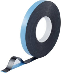 TOOLCRAFT 93038c186 Doppelseitiges Klebeband Blau-Schwarz (L x B) 30 m