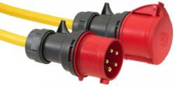 Verlängerungskabel Cee 25m Gelb, Grau, Rot