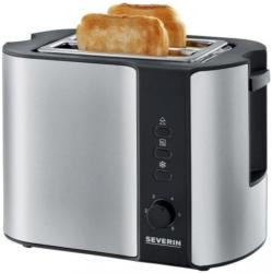 Automatik-toaster At 2589 Schwarz, Silberfarben
