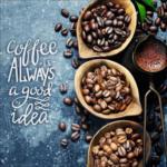 Möbelix Keilrahmenbild Coffee Is Always.. Multicolor