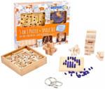 Möbelix Geschicklichkeitsspielset 5 in1 aus Holz und Metall