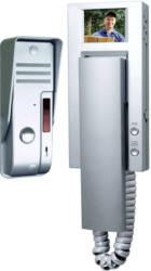 Smartwares SW VD54A Video-Türsprechanlage Kabelgebunden Komplett-Set