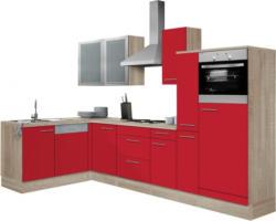 OPTIFIT »Kalmar« Winkelküche mit E-Geräten, Stellbreite 300x175 cm