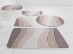 Badematte »Bora«, my home Selection, Höhe 14 mm, Memory Schaum