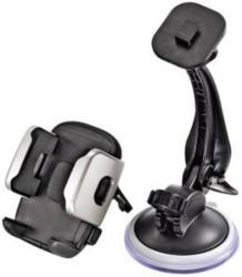 Hama Universal Smartphone Halter Saugnapf, Lüftungsgitter, Klebepad