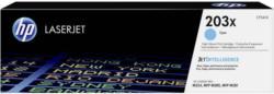 HP Toner 203X CF541X Original Cyan 2500 Seiten