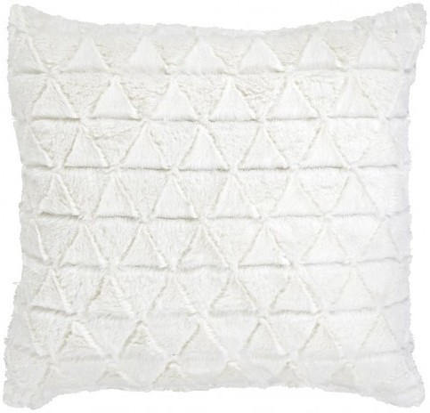 """Dekokissen """"Triangle"""" weiß 40 x 40 cm"""
