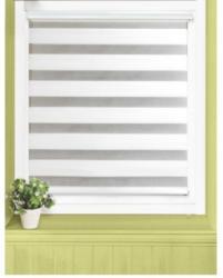 Doppelrollo-Easy-Fix, weiß, ca. 90 x 160 cm
