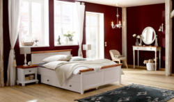 Home affaire Bett »Irena«, in zwei verschiedenen Farben und Breiten, aus massiver Kiefer