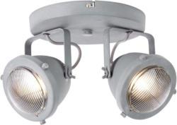 Brilliant Leuchten Carmen LED Spotrondell 2flg grau Beton
