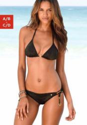 Jette Triangel-Bikini mit goldfarbenen Details