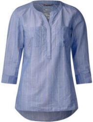Lurex Streifen-Bluse