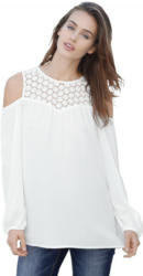 Amy Vermont Bluse mit cut out im Schulterbereich