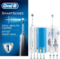"""Oral B Mundpflegecenter """"OxyJet Munddusche + Oral-B Smart 5000"""""""
