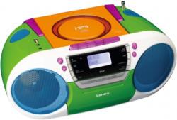 Lenco Tragbare Boombox mit DAB+ Radio - CD/MP3-Player »SCD-681«