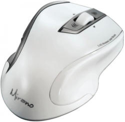 Hama Maus wireless kabellos Lasermaus geräuschlos, weiß »Funkmaus für PC und Notebook«