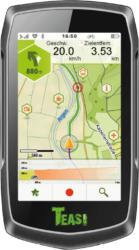 GPS-Geräte - TEASI ONE³ eXtend - PULS Edition incl. Brustgurt Fahrrad, Wandern, Schifffahrt, Outdoor, Geocaching, Fußgänger Westeuropa, Osteuropa