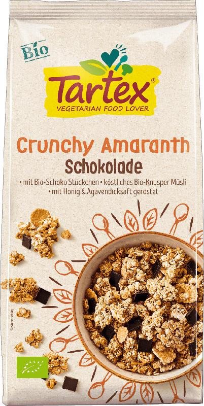 Tartex Crunchy, Amaranth Crunchy Schoko