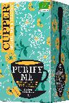 dm-drogerie markt Cupper Kräuter-Tee, purify me mit Fenchel, Holunderblüten & Rosmarin (20x1,9g)