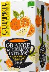 dm-drogerie markt Cupper Früchte-Tee, orange & lemon infusion, Orange & Zitrone, aromatisiert (20x2,5g)