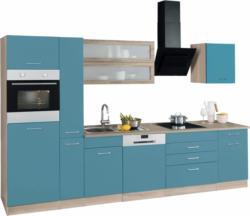 HELD MÖBEL Küchenzeile ohne E-Geräte »Utah«, Breite 330 cm