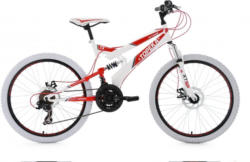 KS Cycling Jugendfahrrad »Topeka«, 21 Gang Shimano Tourney Schaltwerk, Kettenschaltung