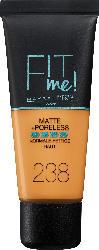Maybelline New York Make-up Fit me! MATTE&PORELESS Rich Tan 238