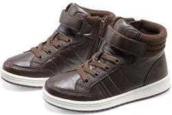 Sneaker, dunkelbraun