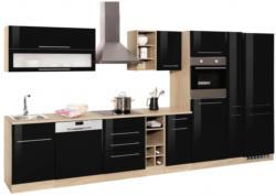 HELD MÖBEL Küchenzeile mit E-Geräten »Eton«, Breite 390 cm