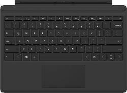 Tastaturen & Stifte - MICROSOFT Surface Pro Type Cover, Schwarz, Tastatur
