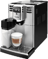 Kaffeevollautomat mit integriertem Milchbehälter - PHILIPS EP5365/10 5000 Kaffeevollautomat Edelstahl