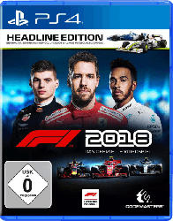 PlayStation 4 Spiele - F1 2018 Headline Edition [PlayStation 4]